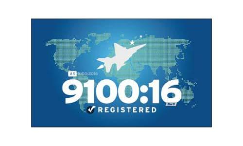 9100:16 Registered
