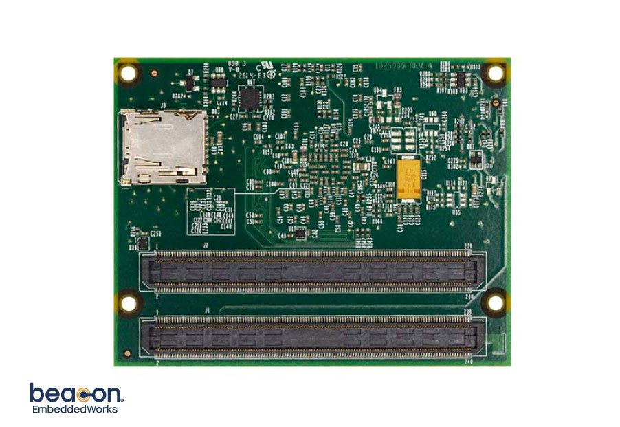 Inflexion Zynq 7020 SOM LV Back