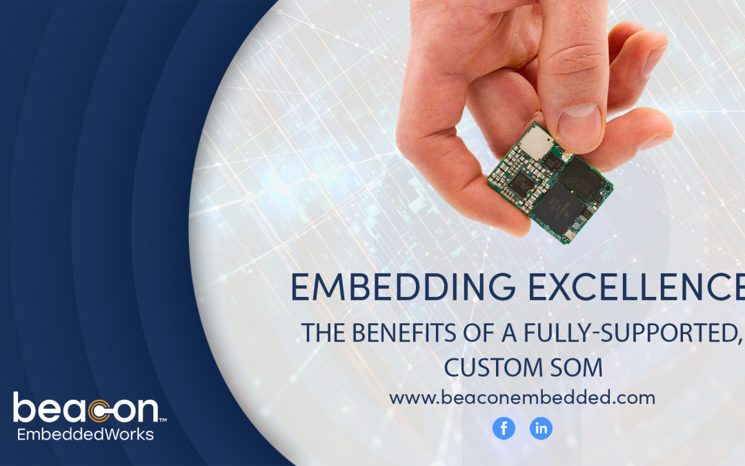 Embedding Excellence: The Benefits of a Fully-Supported, Custom SOM
